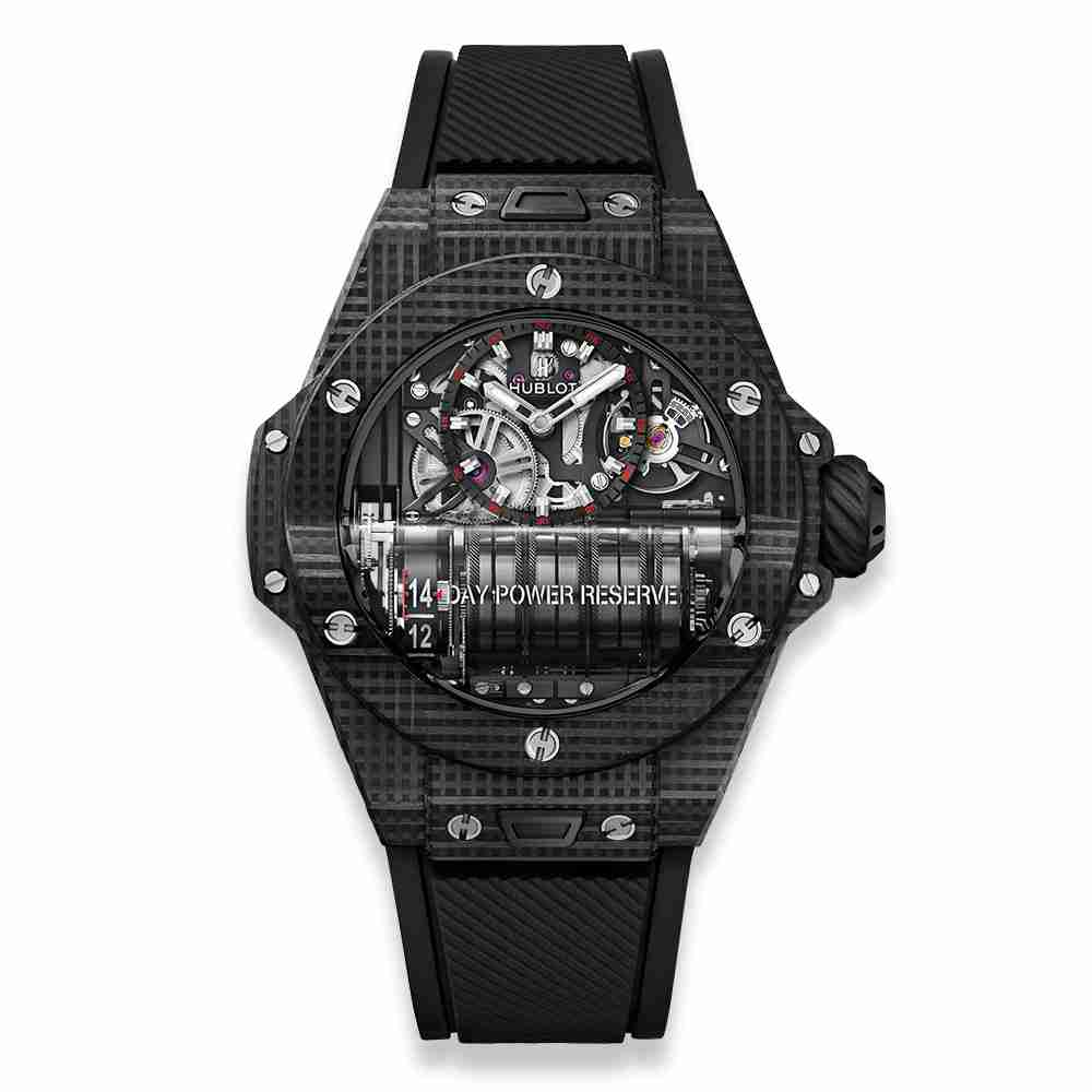 Hublot MP-11 Power Reserve 14 Days 3D Carbon 45mm Replica