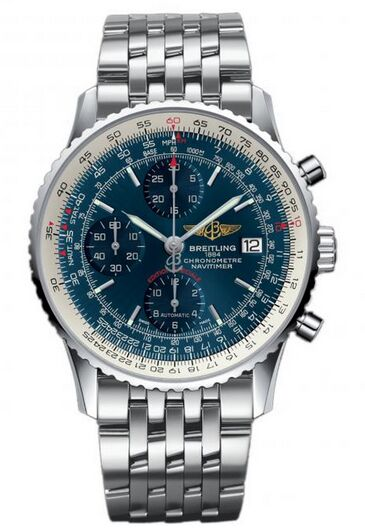 Breitling Navitimer Heritage Stainless Steel Watch Replica