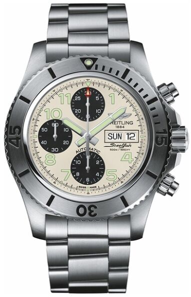 Breitling Superocean Chronograph Steelfish Mens Watch Replica