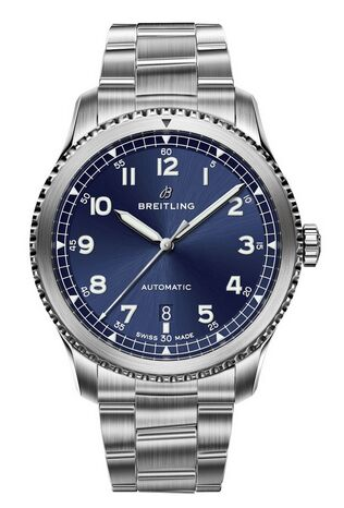 Breitling Navitimer 8 Automatic Blue Dial Bracelet Watch Replica
