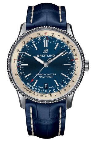 Breitling Navitimer 1 Automatic 38 Blue Dial Mens Watch Replica