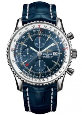 Breitling Navitimer World Stainless Steel Watch Replica