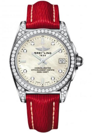 Breitling Galactic 36 Stainless Steel Watch Replica