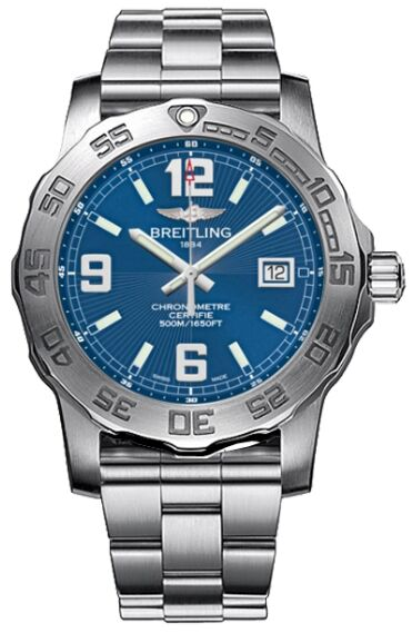 Breitling Colt Blue Dial Watch Replica