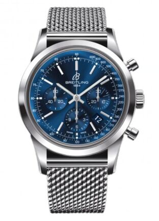 Breitling Transocean Chronograph Limited Edition Stainless Steel Watch Replica