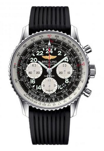 Breitling Navitimer Cosmonaute Stainless Steel Watch Replica