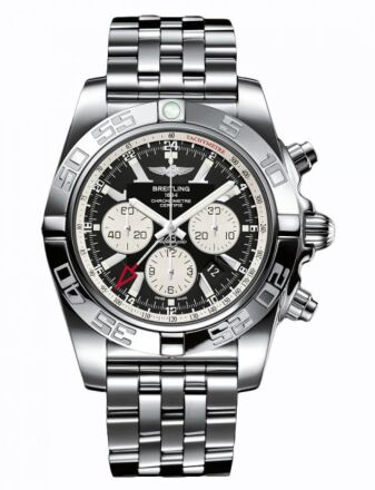 Breitling Chronomat GMT Stainless Steel Watch Replica