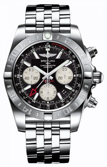 Breitling Chronomat 44 GMT Stainless Steel Watch Replica