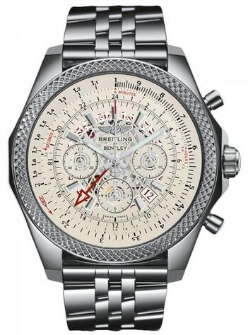 Breitling Bentley B04 GMT Stainless Steel Watch Replica