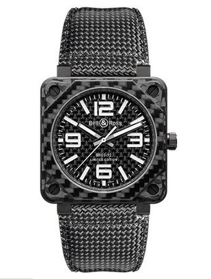 Bell & Ross BR 01-92 Carbon Fiber Watch Replica