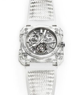 Bell & Ross BR-X1 Chronograph Tourbillon Sapphire Watch Replica