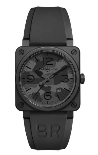 Bell & Ross BR 03 92 Black Camo Watch Replica