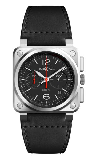 Bell & Ross BR 03 94 Black Steel Watch Replica
