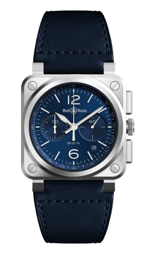 Bell & Ross BR 03 94 Blue Steel Watch Replica