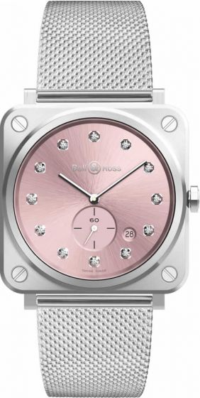 Bell & Ross BR S Novarosa Diamonds Quartz Watch Replica
