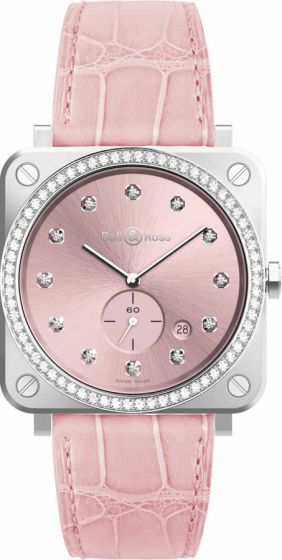 Bell & Ross Novarosa Full Diamonds Quartz Watch Replica