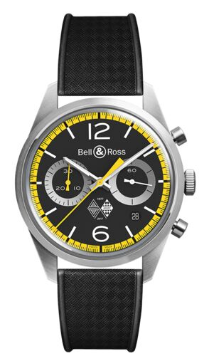 Bell & Ross BR 126 Renault Sport 40th Anniversary Edition Replica