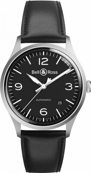 Bell & Ross Vintage BR V1-92 Black Steel Watch Replica