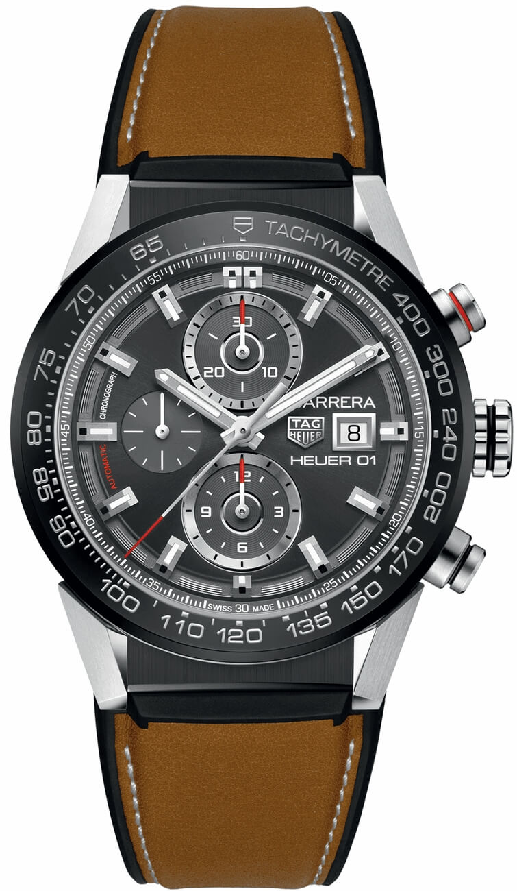 Tag Heuer Carrera Chronograph Automatic Mens Watch Replica