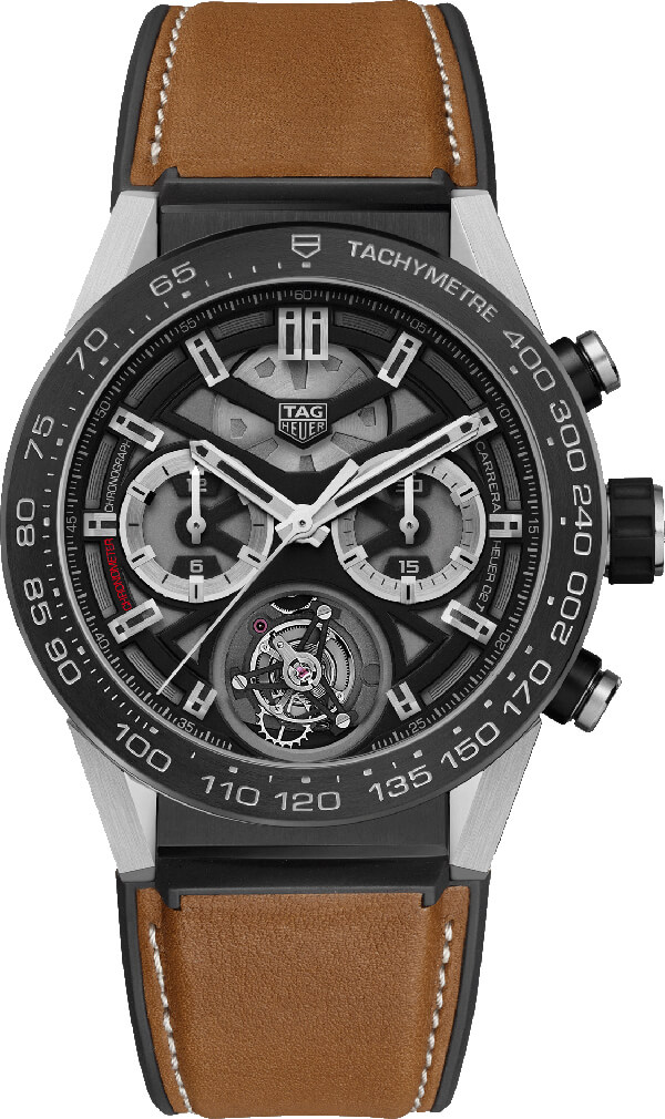 Tag Heuer Carrera Tourbillon Chronograph Automatic Mens Watch Replica
