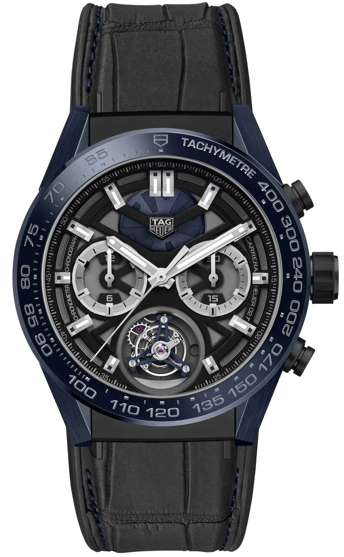 The TAG Heuer Carrera Tete de Vipere Chronograph Tourbillon Chronometer Replica
