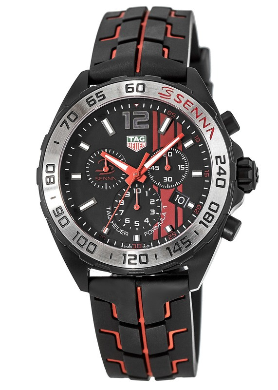 Tag Heuer Formula 1 Black Opalin Dial Mens Chronograph Watch Replica