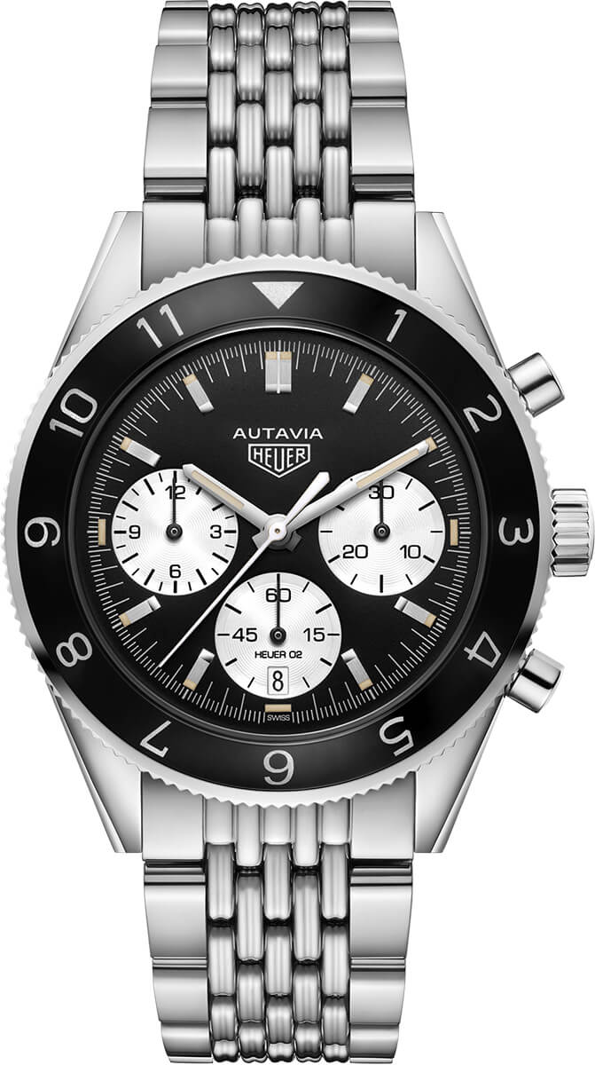 Tag Heuer Heritage Black Dial Automatic Mens Watch Replica