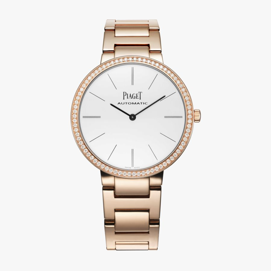 Piaget Altiplano White Dial 18K Rose Gold Automatic Ladies G0A40108