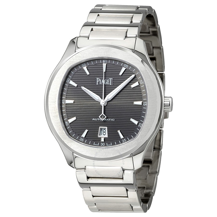 Piaget Polo S Automatic Grey Guilloche Dial Men's G0A41003