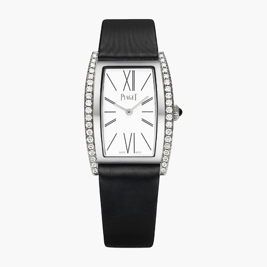 Piaget Limelight Silver Dial Ladies Tonneau-Shaped G0A41189