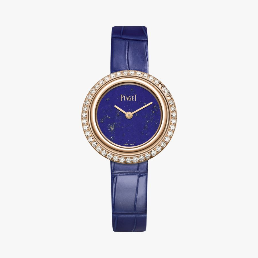 Piaget Possession Ladies Blue Leather G0A43086 - Click Image to Close