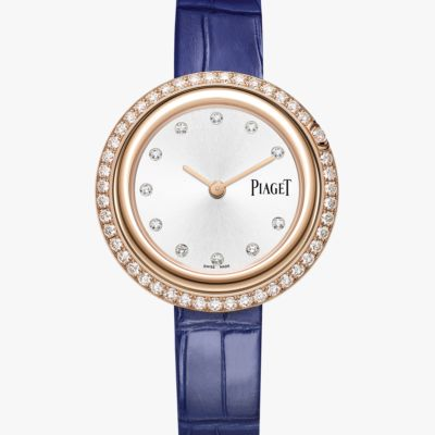 Piaget Diamond Silver Diamond Dial Ladies 18k Rose Gold G0A43092