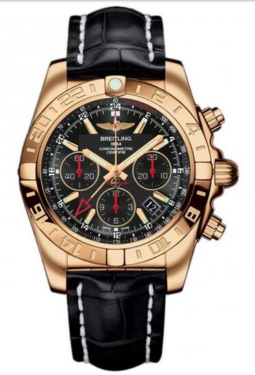 Breitling Chronomat 44 GMT Rose Gold Watch Replica