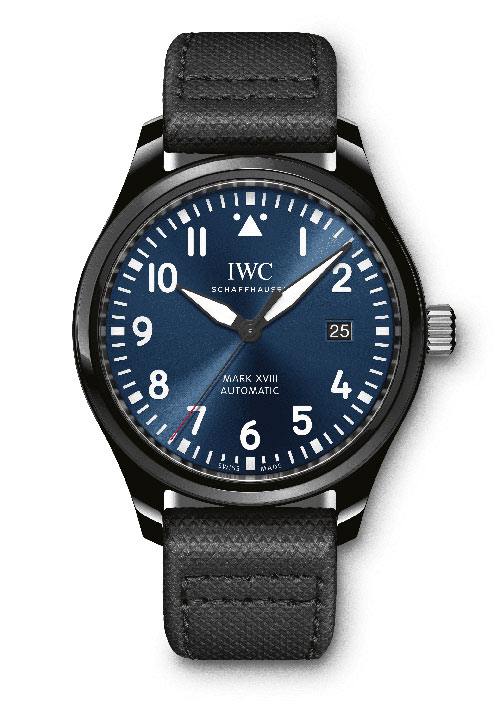 IWC Pilots Mark XVIII Edition Laureus Sport For Good Foundation IW324703 Replica