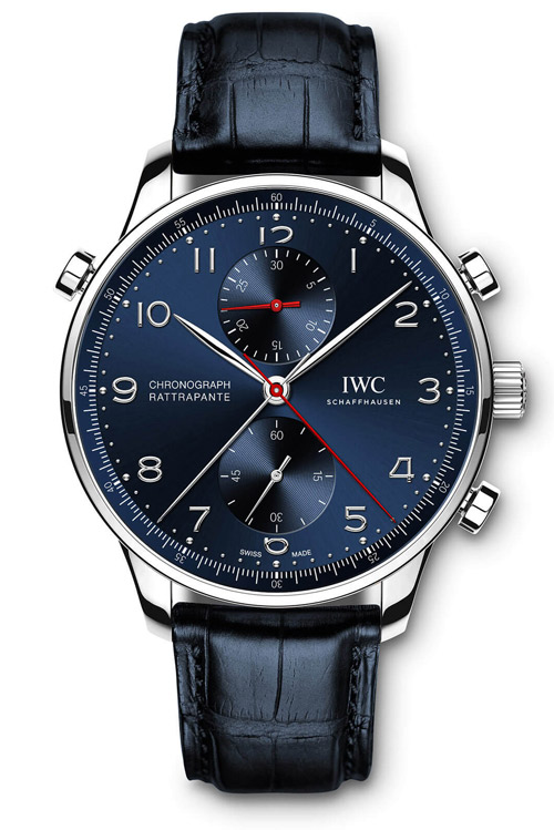 IWC Portugieser Chronograph Rattrapante Edition Boutique Munich IW371217