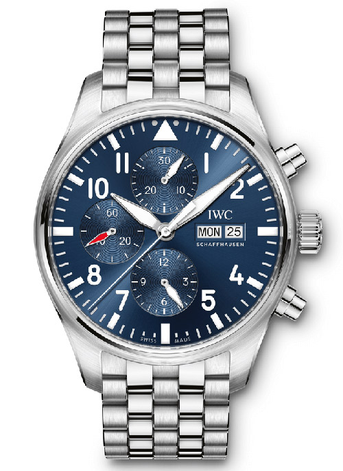 IWC Pilot Le Petit Prince Automatic Chronograph Mens IW377717 Replica