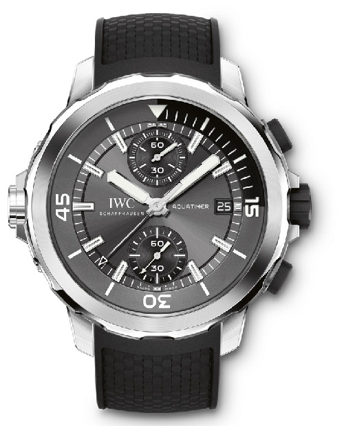 IWC Aquatimer Grey Dial Automatic Mens Chronograph IW379506 Replica