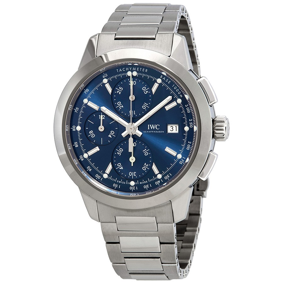 IWC Ingenieur Chronograph Automatic Blue Dial Mens IW380802 Replica