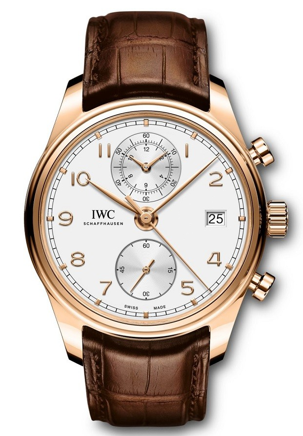 IWC Portugieser Silver Dial Automatic Mens Chronograph IW390301 Replica