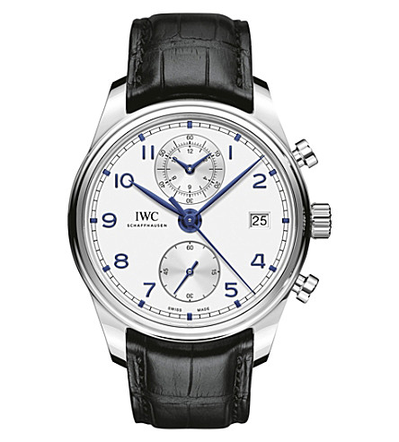 IWC Portugieser Chronograph Classic 42mm Mens IW390302 Replica