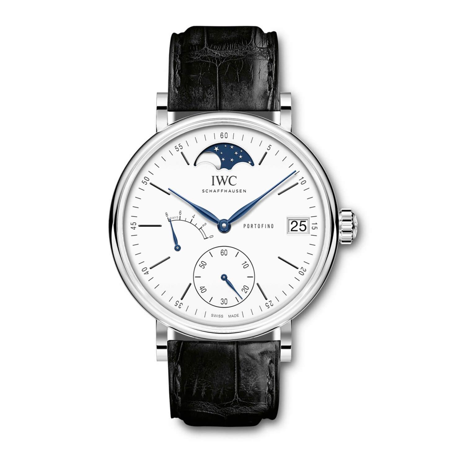 IWC Portofino Hand-Wound Moon Phase Edition 150 Years IW516406 Replica