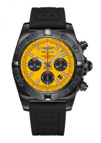 Breitling Chronomat 44 Blacksteel Stainless Steel Watch Replica
