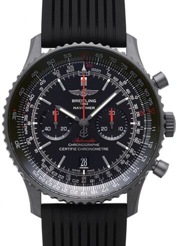 Breitling Navitimer 01 46mm Blacksteel Watch Replica
