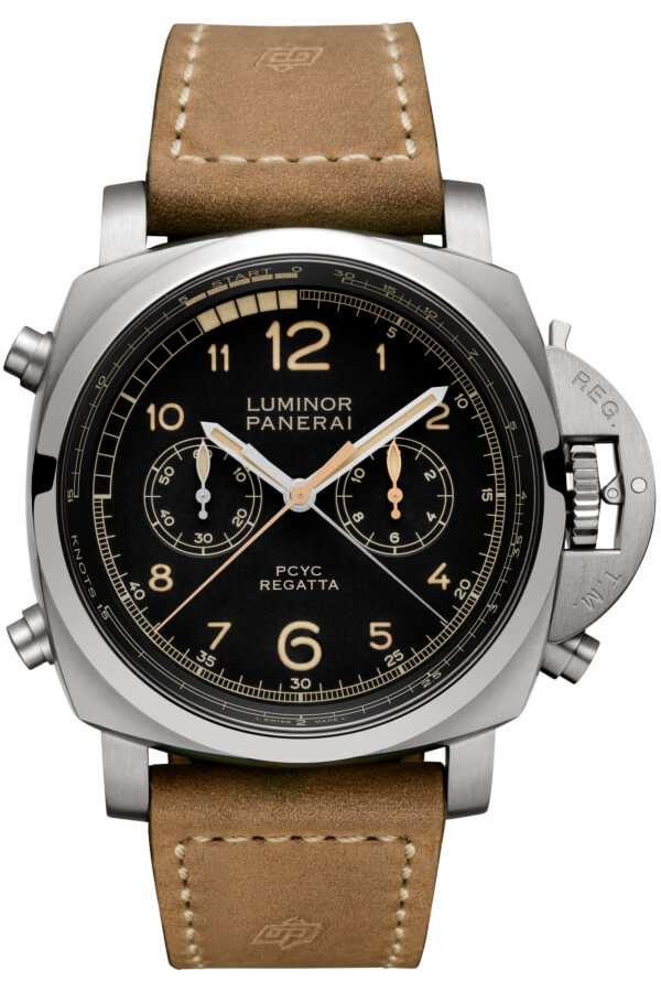 Panerai Luminor 1950 PCYC Regatta 3 Days Chrono Flyback Automatic Titanio 47mm PAM00652 Watch Replica