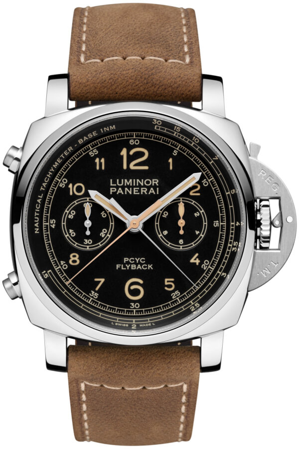 Panerai Luminor 1950 PCYC 3 Days Chrono Flyback Automatic Acciaio 44mm PAM00653 Watch Replica