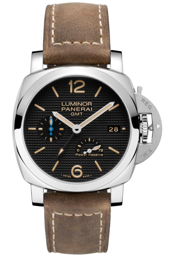 Panerai Luminor 1950 3 Days GMT Power Reserve Automatic Acciaio 42mm PAM01537 Watch Replica