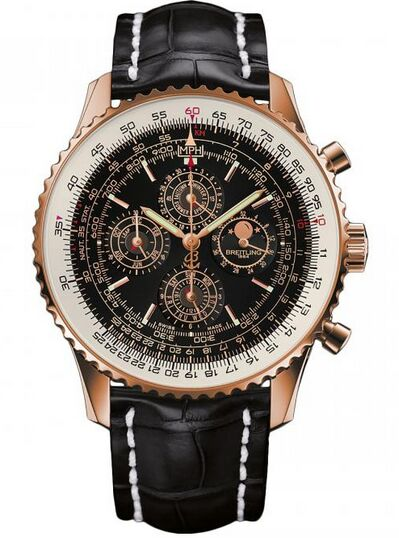 Breitling Navitimer QP Rose Gold Watch Replica