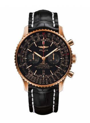 Breitling Navitimer 01 46mm Rose Gold Watch Replica