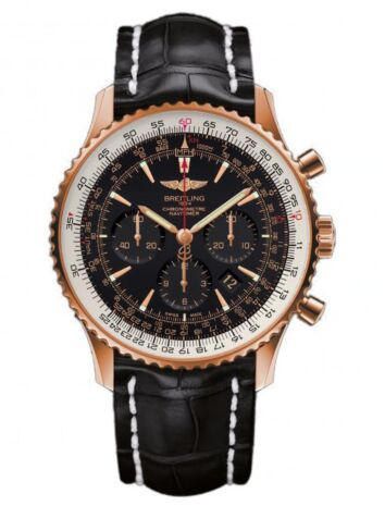 Breitling Navitimer 01 Rose Gold Watch Replica