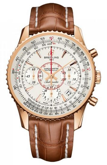 Breitling Montbrillant 01 Rose Gold Watch Replica